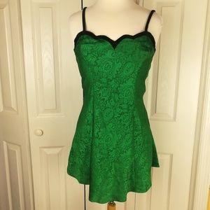 **Vintage Victoria's Secret green nightgown
